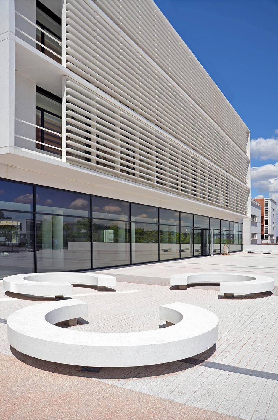 Projet INRS pôle Administration et Formation à Nancy