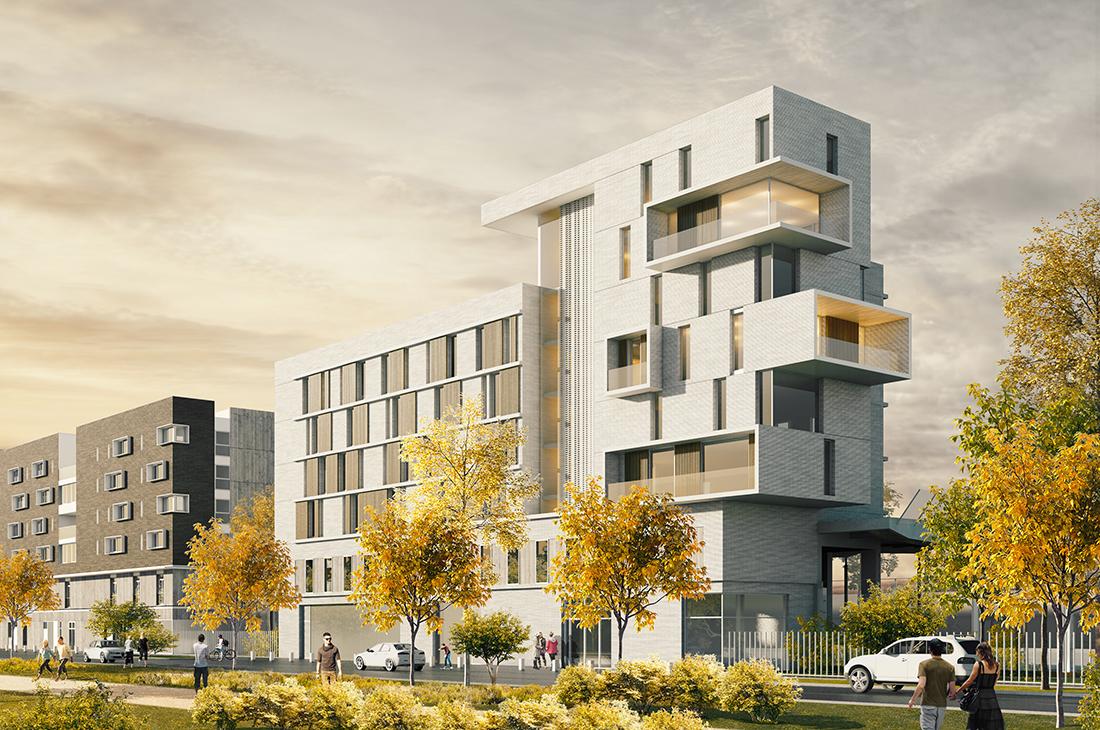 Vitry-sur-Seine, bâtiment 4, Logis Transports